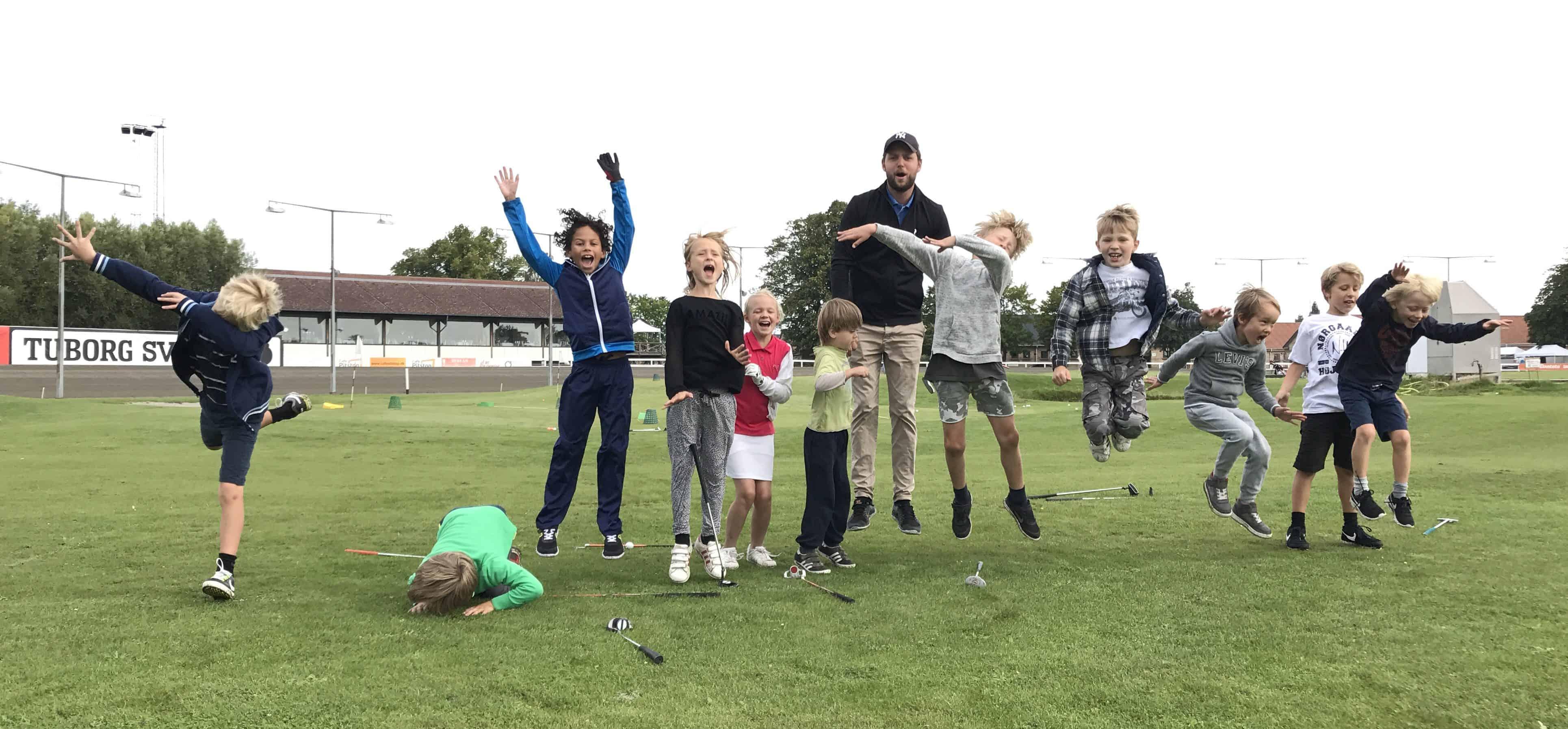 Golf og børn - Børnegolf