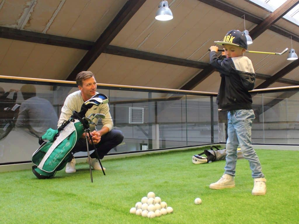 Børnegolf Indoor Golf Kokkedal